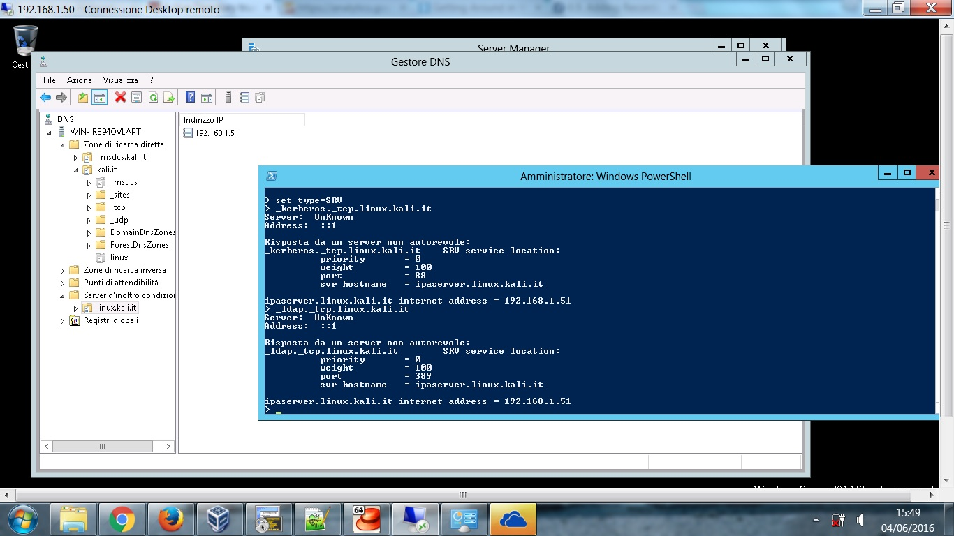 Active Directory dns forwarders