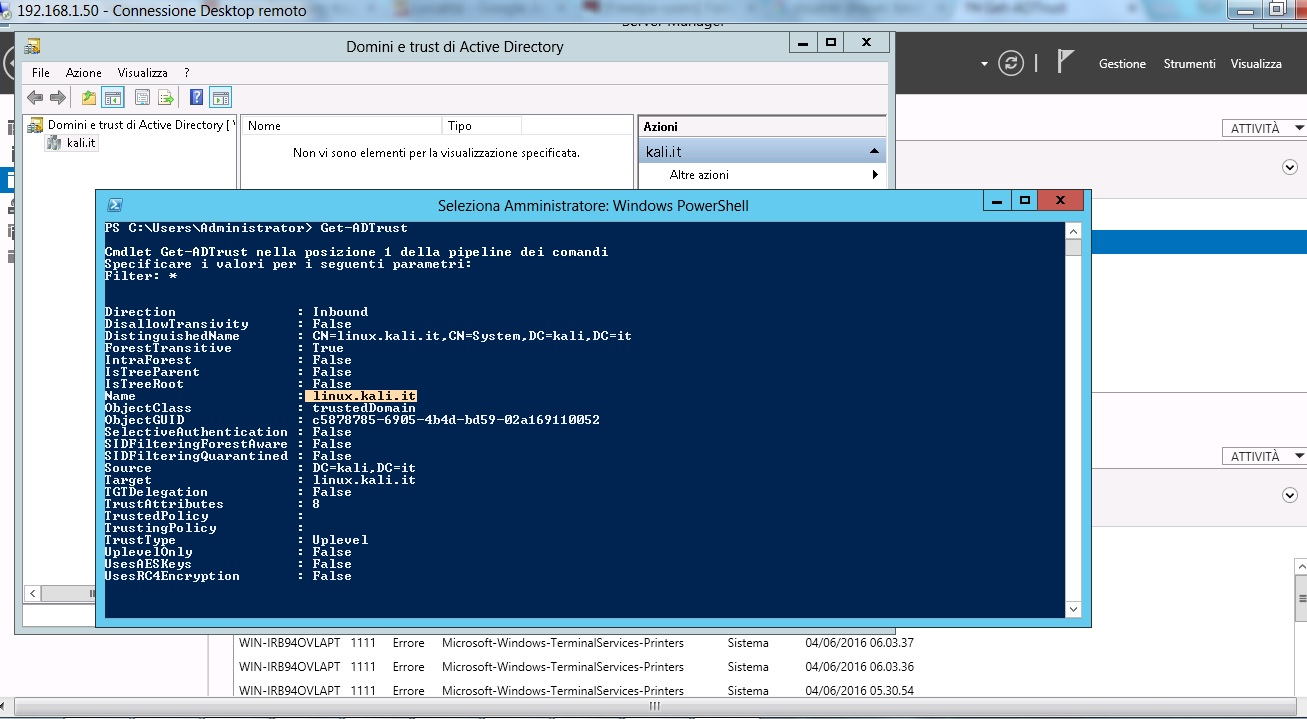 Freeipa Active Directory Trust