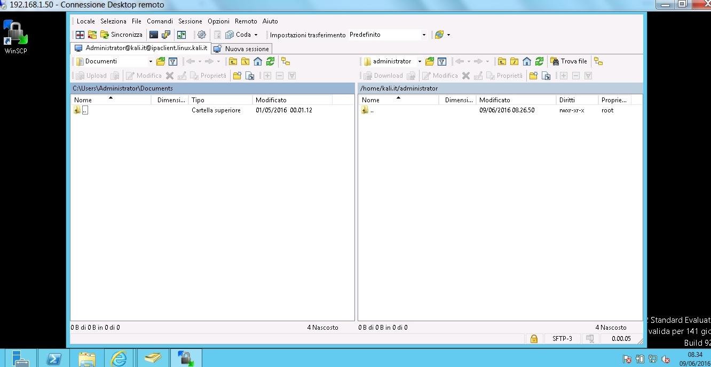 winscp kerberos authentication
