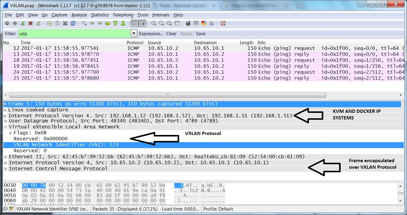 Overlay Network Trace
